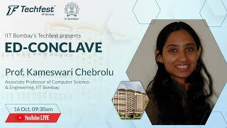 Computer Science & Engineering | Prof. Kameswari Chebrolu, IIT Bombay | Techfest, IIT Bombay