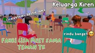 FAHRI LISA MEET SAMA TEMAN TK || KELUARGA KIREN || DRAMA SAKURA SCHOOL SIMULATOR