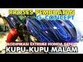 PROSES PEMBUATAN HONDA GENIO EXTREME G-CONCEPT KUPU-KUPU MALAM (Behind the process of making cars)