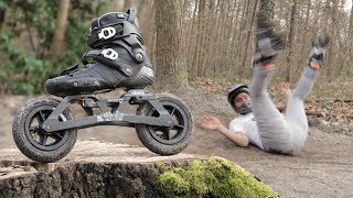 WE TRIED OFFROAD INLINE SKATING