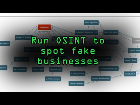 Run OSINT Investigations on Businesses & CEOs [Tutorial] thumbnail