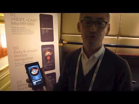 CES 2014 Calyx M Portable Music Player