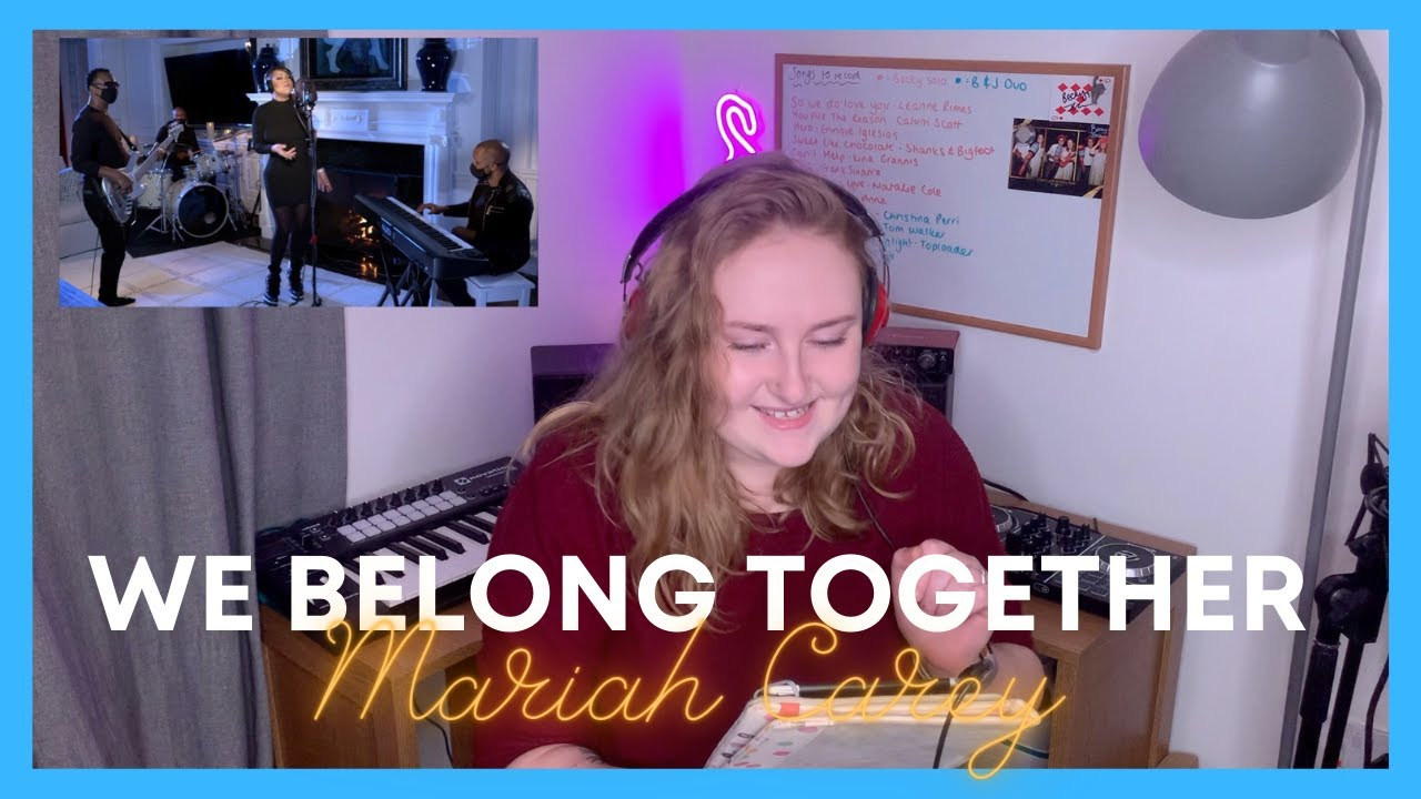 Singer Reacts to 'We Belong Together' (Mimi's Late Night Valentine's Mix) Mariah Carey