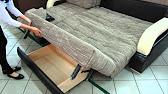 Диван -кровать Кельн на блоке независимых пружин, пантограф - YouTube
