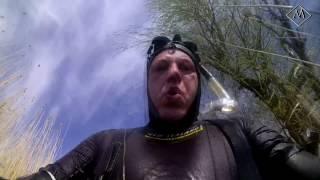 Подводная охота - май 2015(Первомайские приключения очень насыщенные на события! Было и бездорожье, рыбалка, охота, первая в сезоне..., 2015-05-11T12:42:19.000Z)