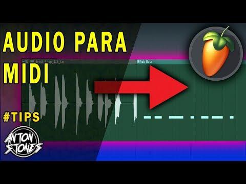 Como Converter Audio Para Midi - Fl Studio 20