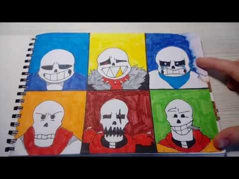 Мои рисунки UNDERTALE! (#15)