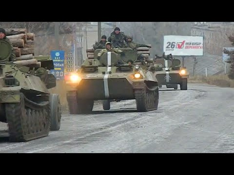 Ukrainian military reinforcements army moves east to fight against Russian terrorists  Ukraine News