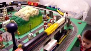 mth train layout
