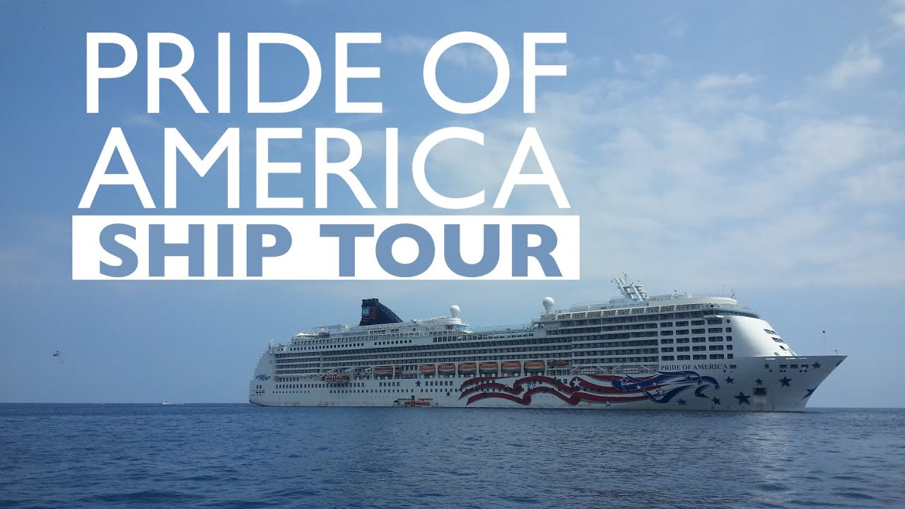 Pride Of America Cruise Ship Tour  YouTube