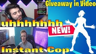 Tfue/ Streamers React to *NEW* JAZZY hands Emote! (GIVEAWAY) fortnite moments best highlights