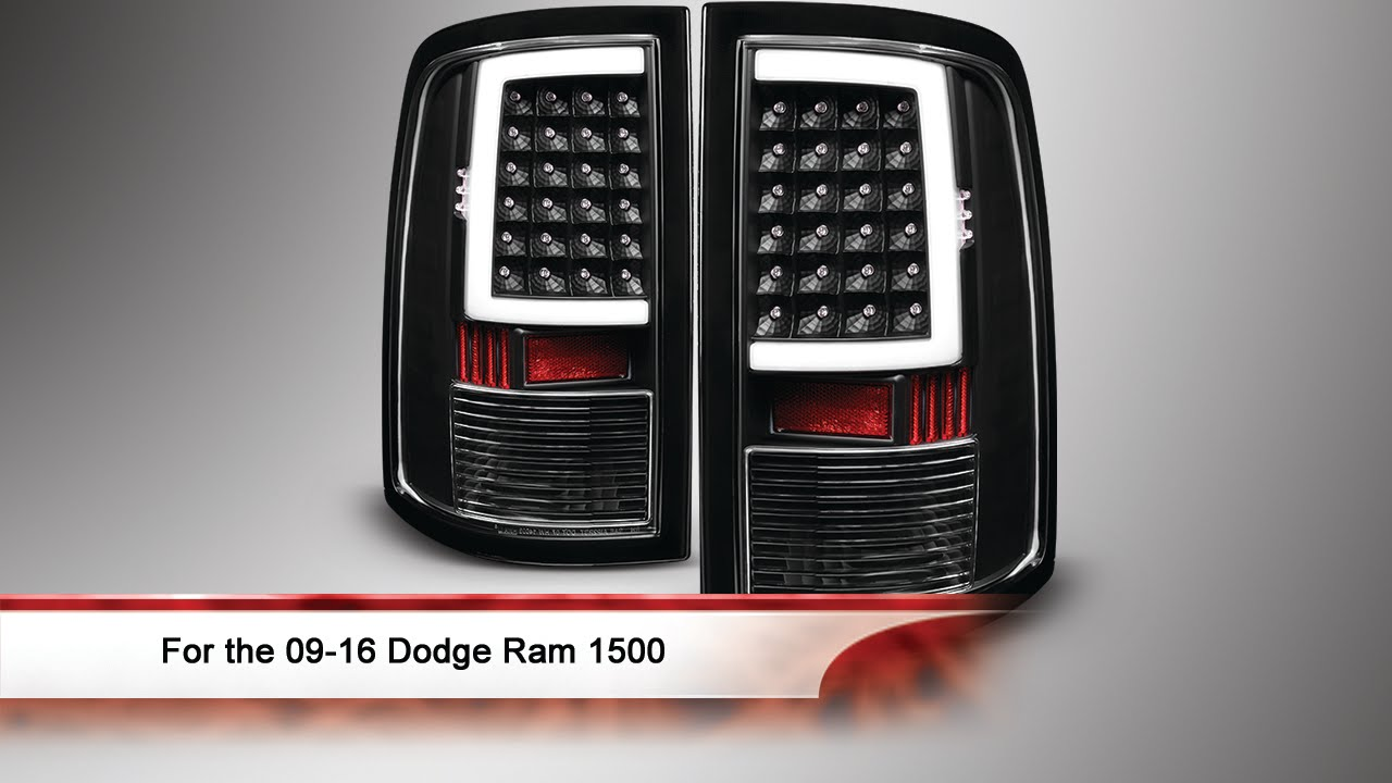 Spyder Led Dodge Tail Lights Wiring Diagram Data Brake Light 09 16 Ram 1500 Bar Youtube Ford F 150