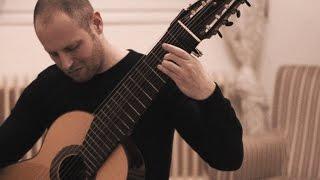 G.F.Händel - Prelude & Allemande HWV 428 - 11 string guitar