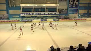 Чемпионат России по синхронному катанию  KMC  ПП 1 Аквамарин ОМС