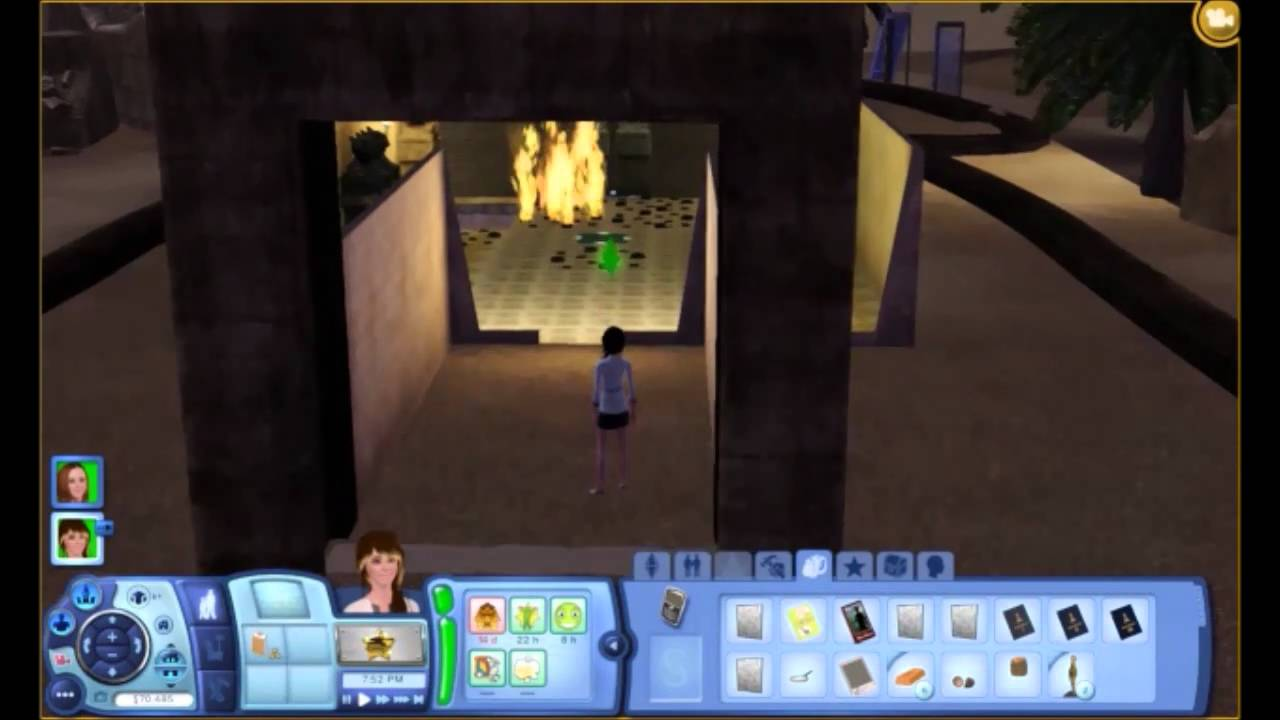 sims 3 world adventures getting cursed part 2 youtube