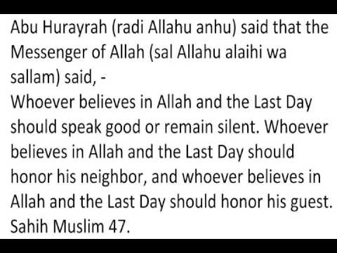 importance of good manners in islam Adab refers to the islamic etiquette it is the manner of conduct that prophet  muhammad (pbuh) used while interacting with the world around.