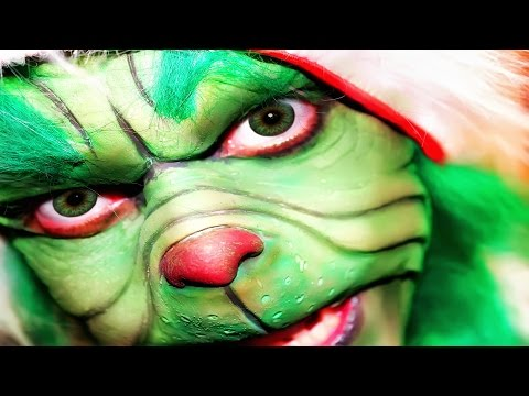 AWESOME Grinch Impression - Stealing Christmas Video