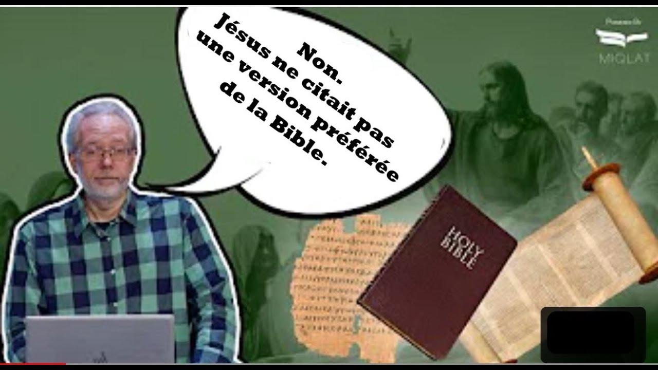 Le mythe sur la façon dont nous avons obtenu l'Ancien Testament