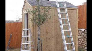 Freedom Outdoor Living - Simple Outdoor Work Shed