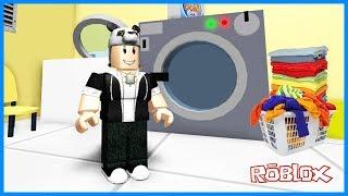 ÇAMAŞIRHANEDEN KAÇIŞ! Roblox Escape the Laundromat Obby Panda ile!
