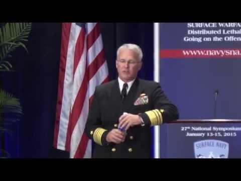 Surface Navy Association - Vice Adm. Thomas S. Rowden