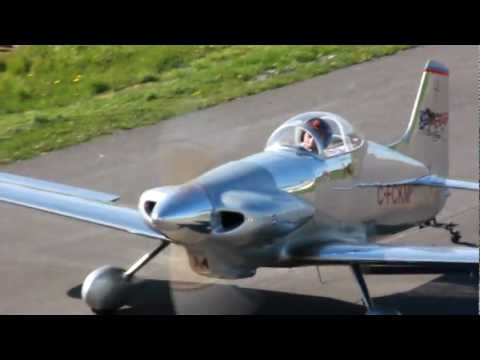 HD] Beautiful Midget Mustang Landing and Taxiing CSU3 - YouTube