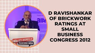D Ravishankar of Brickwork Ratings at