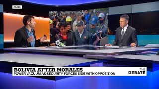 Bolivia after Morales: Power vacuum as security forces side with opposition