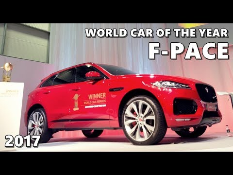 Jaguar F-PACE World Car of the Year 2017