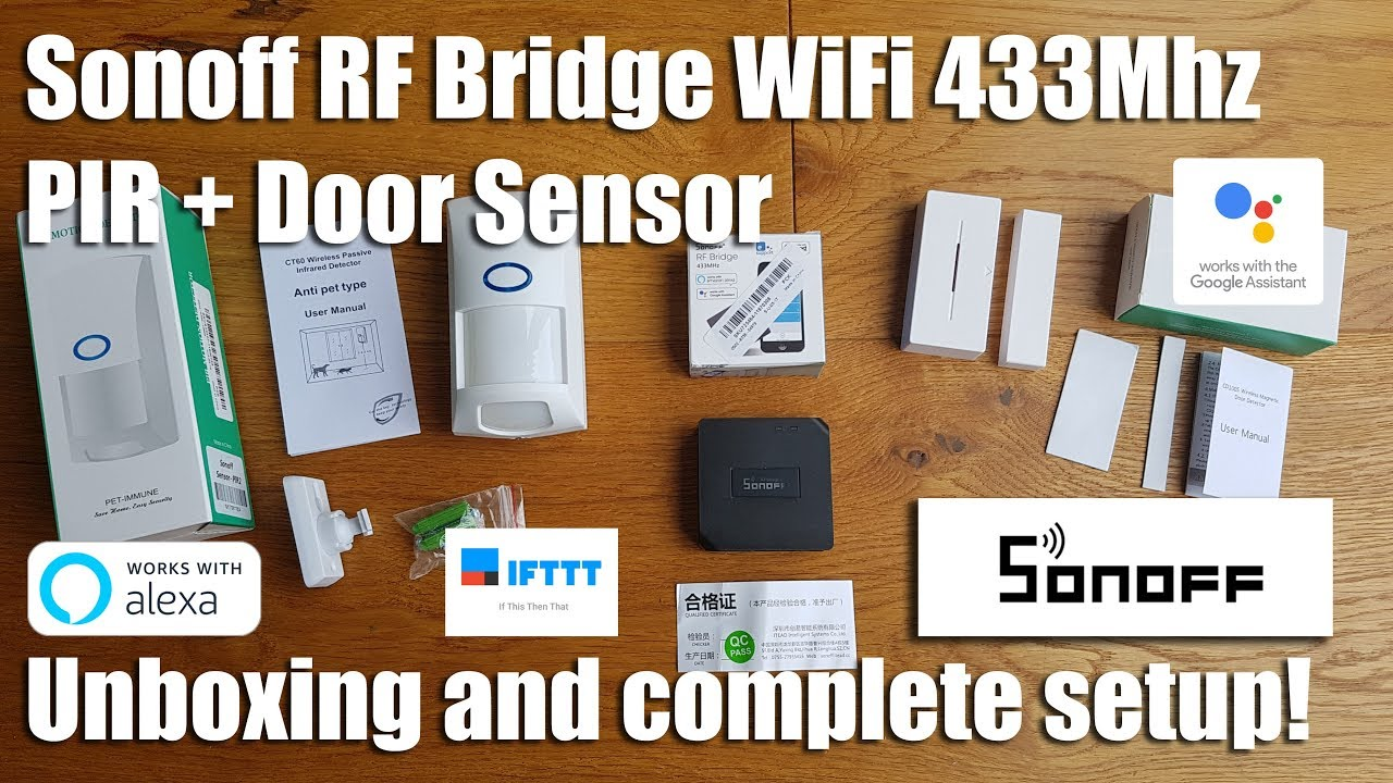 Sonoff Rf Bridge Wifi 433mhz Pir Sensor Door Window Alarm Techstrong Basic Electronics Project4 Simple Electronic Code Lock Geekstreet Rfbridge