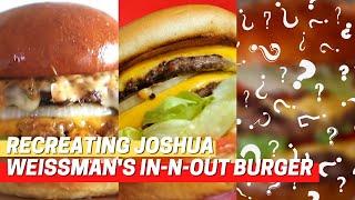 Remaking Joshua Weissman&#39s In-N-Out Burger!!  Irene Walton