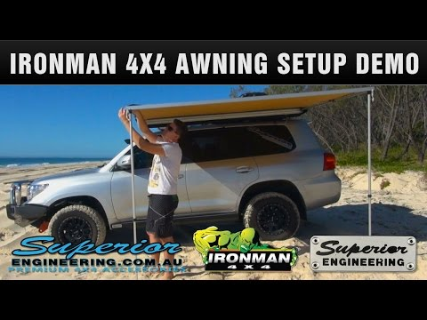 Ironman 4x4 Instant Awning Setup and Demo
