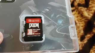 Розпакування WWE 2K18 DOOM Nintendo Switch