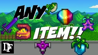 Spawn Any Item Trick! No Mods Needed! So Easy! - Stardew Valley