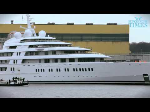 Аззам - самая большая яхта в мире. Azzam - The World s Largest Yacht