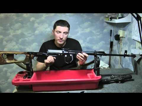 Краткий обзор устройства Снайперской Винтовки Драгунова (СВД)