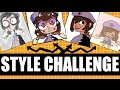 STYLE CHALLENGE!!! (Gorillaz, PPG, Danganronpa + More)