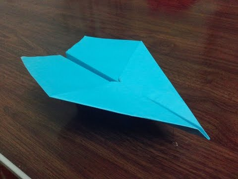 How To Make A Paper Airplane That Flies Far And Straight Very Easy