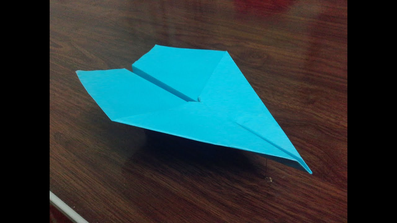 How to make paper plane that fly