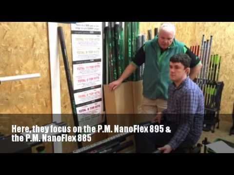 Tom Scholey talks to Mark Downes about the NanoFlex 895 and 885 Poles
