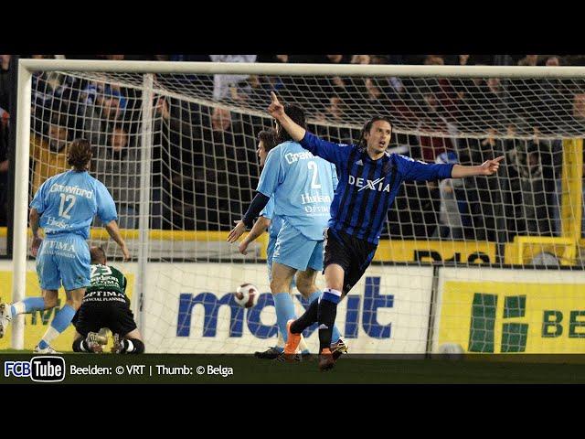 2006-2007 - Beker Van België - 06. Halve Finale - Club Brugge - AA Gent 2-0