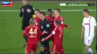 Franck Ribéry gifle un joueur coréen et se fait expulser ! Ribéry slaps a Korean football player