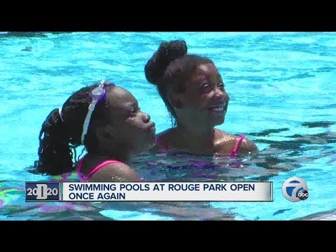 Swimming pools at Rouge Park open once again