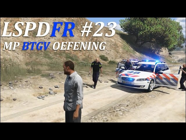 LSPDFR #23, multiplayer! BTGV OEFENING