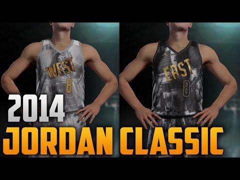 NBA 2K16 2014 Jordan Brand Classic Jersey & Court Tutorial