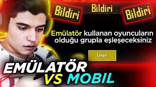 EMÜLATÖR vs DOCH (Zorlayıcı Maç) | PUBG Mobile Sanhok Gameplay (Türkçe)