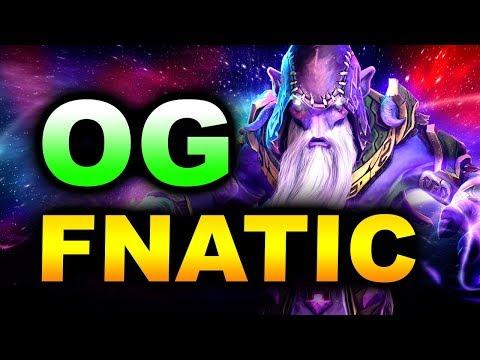 OG vs FNATIC - SICK GAME! - ESL ONE KATOWICE 2019 DOTA 2 thumbnail