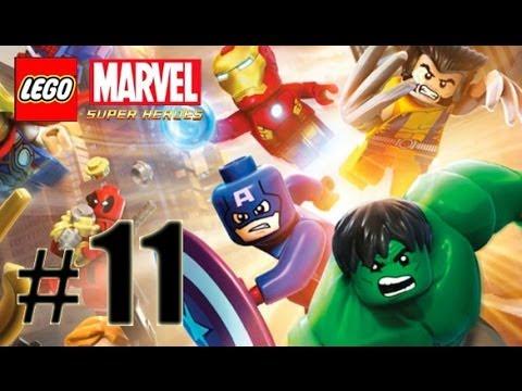 LEGO Marvel Super Heroes Gameplay/Walkthrough HD - Mandarin & Aldrich Killian - Part 11