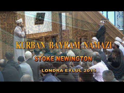 KURBAN BAYRAM NAMAZI AZIZIYE CAMISI LONDRA EYLUL 2015 HD