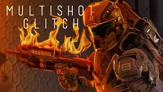 Halo 5 - MULTI-SHOT GLITCH IN ACTION (B-Roll) [PATCHED]